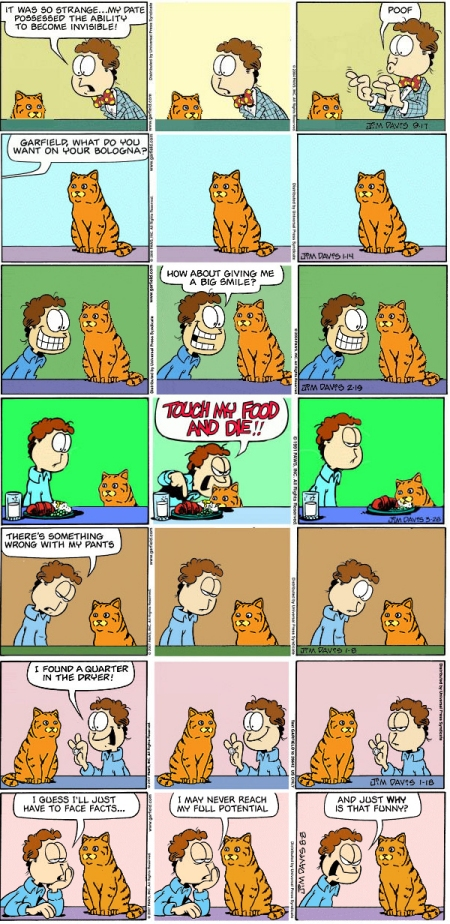 Garfield In Real Life Realfield Beyond Sims