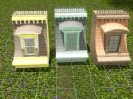 Mighty Mansard Straight With Window Roof (200 Simoleons) Tile space needed- 2x2