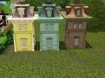 Mighty Mansard Roof Tower (200 Simoleons) Tile space needed- 4x4