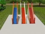 Hang Right Curved Colonial Stair Rail (200 Simoleons)